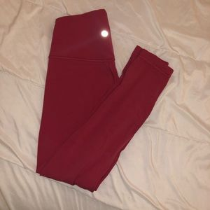 lululemon athletica Pants - Lululemon pink align leggings